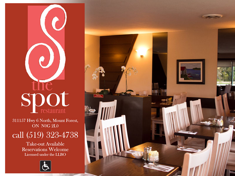 The Spot Restaurant -Menu-